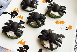 low protein halloween snack